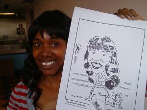 Young Lady at Poco Loco 7 May 2009